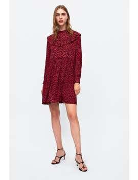 Ruffled Dress  Mini Dresses Woman by Zara