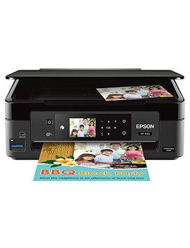Epson Expression Home Xp 440 Wireless Color Photo Printer With Scanner And Copier, Amazon Dash Replenishment Enabled by Epson