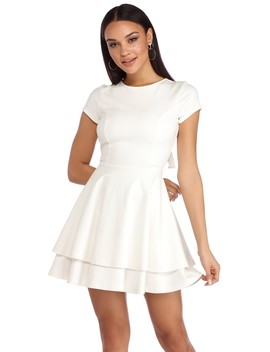 Topped The Cake Skater Dress by Windsor