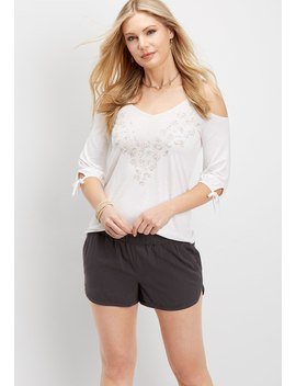 Pull On Slate Short by Maurices