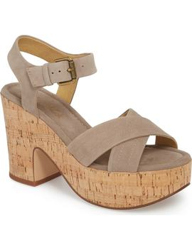 Flaire Platform Sandal by Splendid
