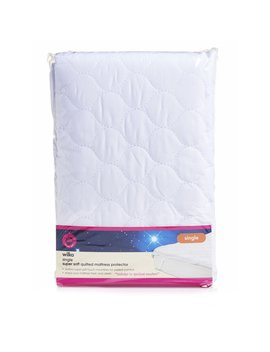 Wilko Super Soft Single Quilted Mattress Protector by Wilko