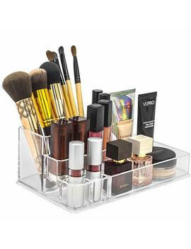 Sorbus Acrylic Cosmetics Makeup And Jewelry Storage Case Display Top–Glamorous, Space  Saving, Stylish Acrylic Bathroom Organizer (Top Style 2) by Sorbus