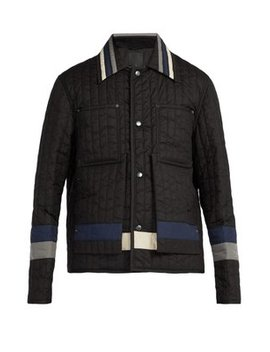 Panelled Quilted Nylon Jacket by Craig Green