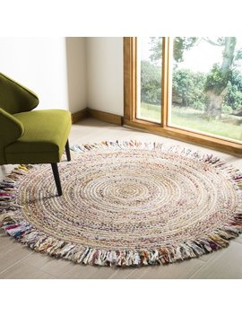 Bungalow Rose Abhay Boho Hand Woven Jute/Sisal Ivory Area Rug & Reviews by Bungalow Rose