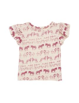 Animal Print Tee by Peek