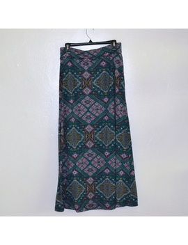 Beautiful A Line Printed Maxi Skirt by Mossimo Supply Co.