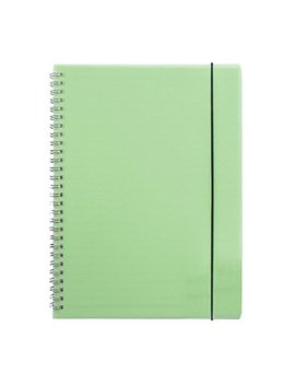 """Zengest Wirebound Spiral Notebook Hardcover Dot Grid Notebook B5 Large Size 10.2"""" X 7.4"""" 160 Pages, Green by Zengest"""