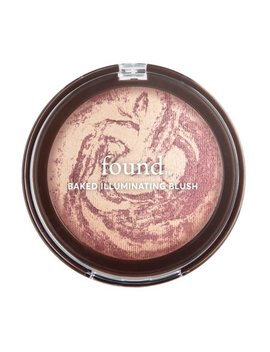 Found Baked Illuminating Blush With Rosehip Oil, 80 Rose Glow, 0.24 Fl Oz by Found