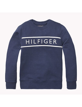 3 D Embroidery Logo Sweatshirt by Tommy Hilfiger