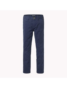 Organic Cotton Skinny Fit Chinos by Tommy Hilfiger