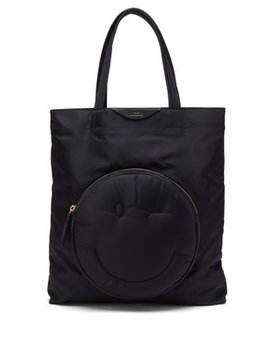 Chubby Wink Nylon Tote Bag by Anya Hindmarch