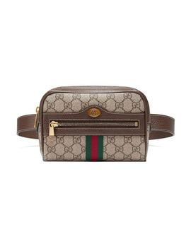 Guccibrown Ophidia Gg Supreme Small Belt Bag Home Women Gucci Bags Clutch Bags by Gucci