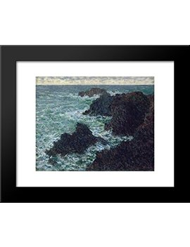 The Cote Sauvate 20x24 Framed Art Print By Monet, Claude by Art Direct