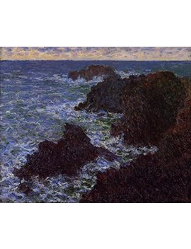 "The Cote Sauvate By Claude Monet   20"" X 25"" Premium Canvas Print by Canvas Art Usa"
