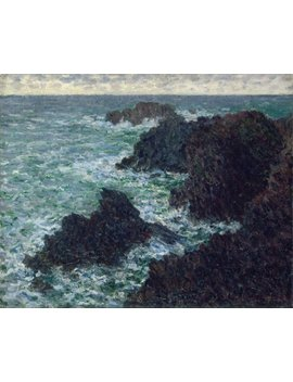 Artisoo The Cote Sauvate   Size: 30 X 24 Inches   Impressionism Oil Painting Reproduction   Claude Monet by Artisoo
