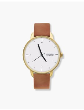 Tinker™ 42mm Gold Toned Watch by Madewell