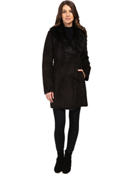 Sarah Faux Suede/Fur Coat by Marc New York By Andrew Marc