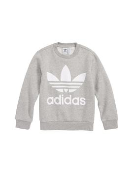 Logo Fleece Sweatshirt by Adidas Originals