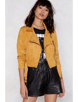 Good Faux You Moto Jacket by Nasty Gal