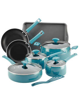 Rachael Ray™ Cityscapes Porcelain Enamel 12 Piece Cookware Set by Bed Bath And Beyond
