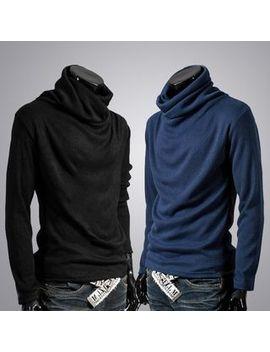Turtleneck Long Sleeve Knit Top by Kieran