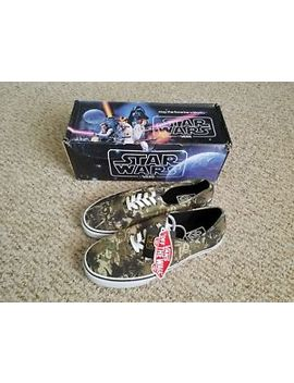Nwt! Vans Star Wars Authentic Boba Fett Camo  Ultra Rare   Limited Edition! 9.5 by Vans