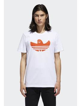 Shmoo   T Shirt Print by Adidas Originals