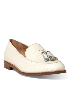 Brindy Snakeskin Loafer by Ralph Lauren