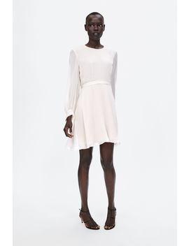 Dress With Belt  Dresseswoman by Zara
