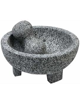 Imusa Usa Mexi 2013 Granite Molcajete Spice Grinder 6 Inch, Gray by Imusa