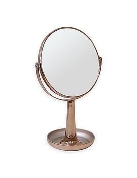 3x Vanity Mirror With Tray In Gold by Bed Bath And Beyond