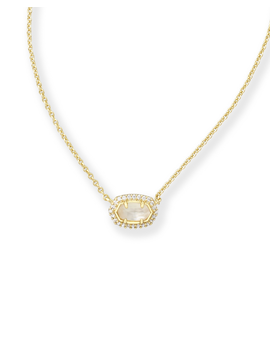 Flower Girl Pendant Necklace In Gold by Kendra Scott