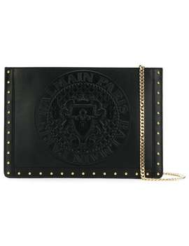 Domaine Studded Mini Pouch by Balmain