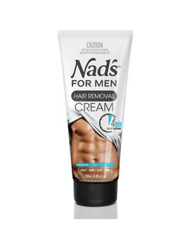 4 Pack   Nad's For Men Hair Removal Cream 6.8 Oz by Nad's