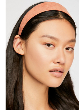 Mod Suede Headband by Free People