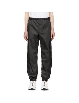 Ssense Exclusive Black Arca Edition Trousers by Prada