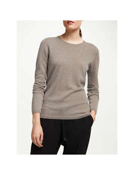 John Lewis Cashmere Crew Neck Sweater, Toast by John Lewis