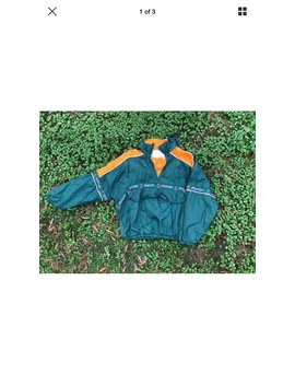 Vintage Miami Hurricanes Windbreaker by Vtgala