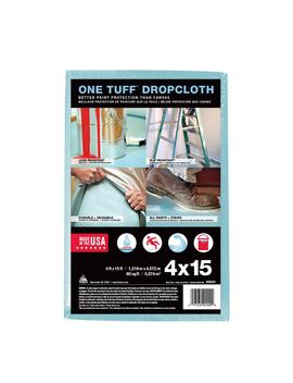 4 Ft. X 15 Ft. Drop Cloth by One Tuff