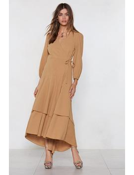 Driven To Tiers Midi Dress by Nasty Gal