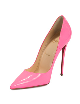 Christian Louboutin So Kate Fuchsia Patent Leather 100mm Pumps by Christian Louboutin