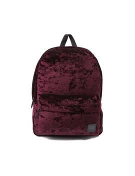 Vans Deanna Crushed Velvet Backpack by Vans
