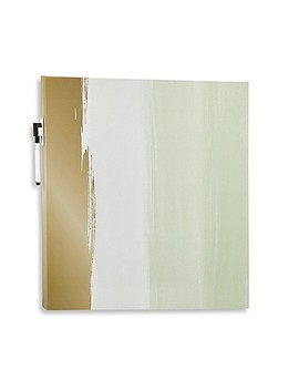 Canvas Decorative Dry Erase Board In Watercolor by Bed Bath And Beyond