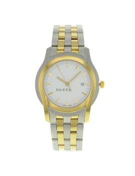 White 5500 Xl Ya055214 38mm Watch by Gucci
