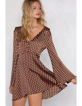 Dot Better Things To Do Polka Dot Dress by Nasty Gal