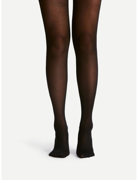 40 D Sheer Mesh Tights by Sheinside