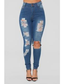 Teenage Fever Jeans   Medium Blue Wash by Fashion Nova