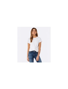 Whitney Twist Front Crop Tee by Forever New