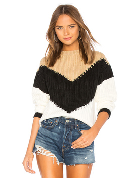 Colorblock Sweater by Tularosa